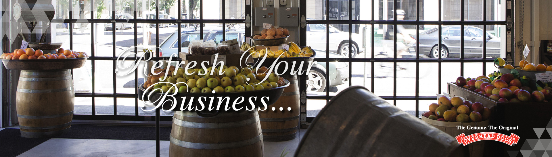Refresh your business