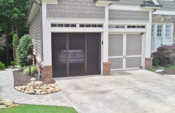 Install A Retractable Screen Garage Door System Or A Screen Patio
